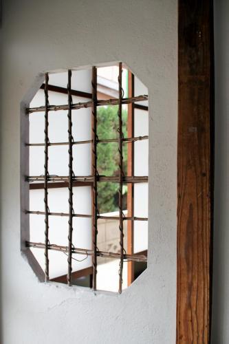 "Detail ""Bamboo Frame"""